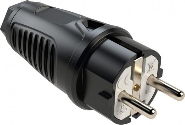 SIROX® Gummistecker mit Polyamid-Einsatz belg./franz. Ausführung