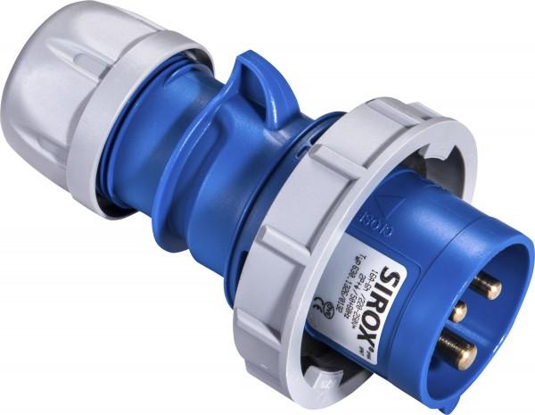 SIROX® CEE-Stecker IP 67, 3-polig, 230 V, 6 h
