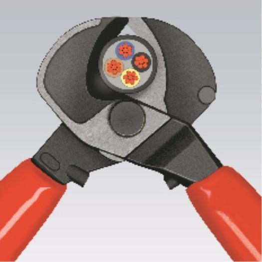 KNIPEX Kraft-Kabelschere
