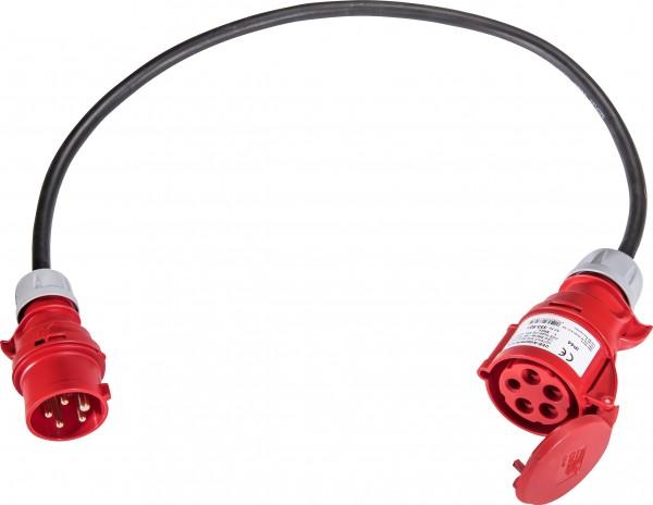SIROX® Adapterleitung CEE 16 A - CEE 32 A 5 x 2,5 mm² 1 m