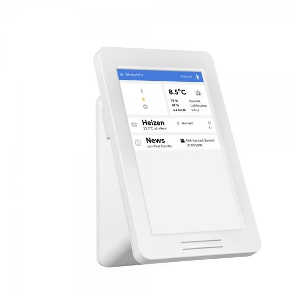 MiA-Touchdisplay, Einzeltemperaturregelung, Set für Steuerung von 5 Heizkörpern