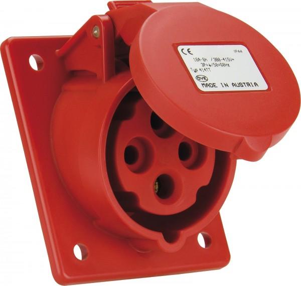SIROX® CEE-Anbaudose IP 44, 4-polig, 400 V, 6 h, schräg