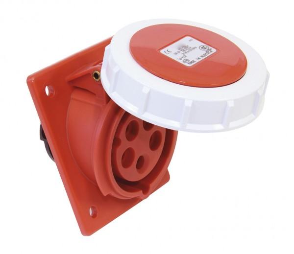 SIROX® CEE-Anbaudose IP 67, 5-polig, 400 V, 6 h, schräg