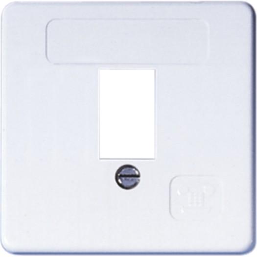 OPUS® 55 Abdeckung für 1-fach TAE-Anschlussdosen