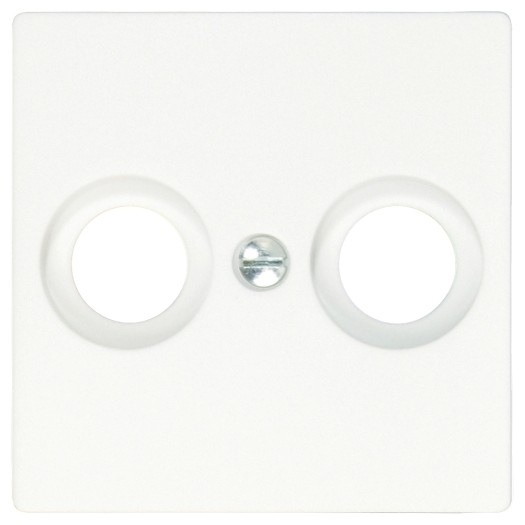 OPUS® 55 Abdeckung für Antennen-Steckdosen, 2-Loch