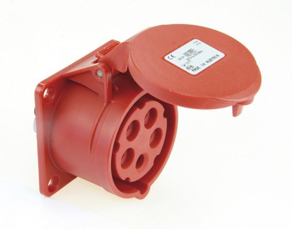 SIROX® CEE-Anbaudose IP 44, 5-polig, 400 V, 6 h, gerade
