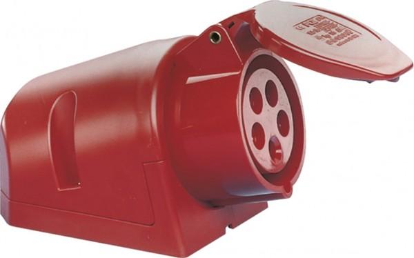 SIROX® CEE-Wanddose IP 44, 5-polig, 400 V, 6 h