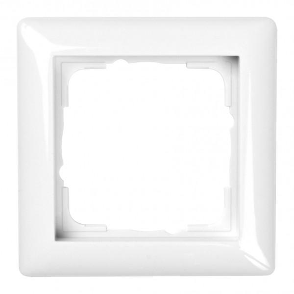 GIRA Rahmen 1-fach System 55 reinweiß glänzend