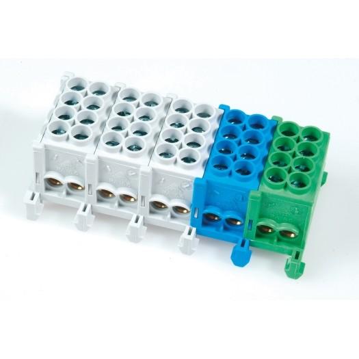 Hauptleitungs-Abzweigklemmen - N/PE farblich