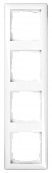 GIRA Rahmen 4-fach System 55 reinweiß glänzend