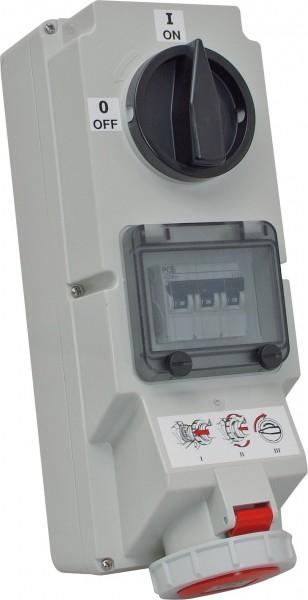 SIROX® Abschaltbare CEE-Wandsteckdosen IP 67 LSS 16 A