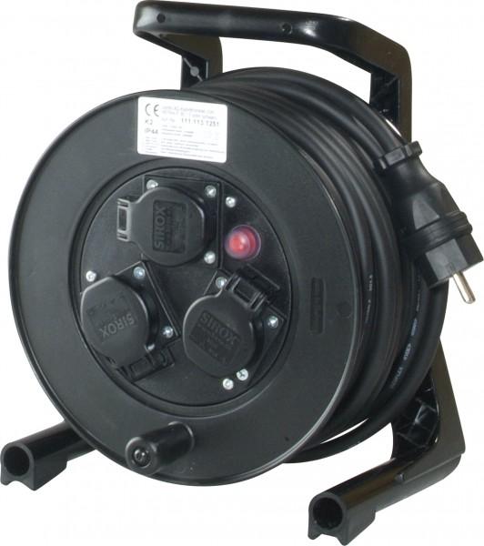 JUMBO® XS Kabeltrommel mit 3 Steckdosen H07RN-F