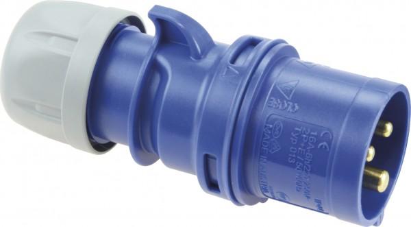 SIROX® CEE-Stecker IP 44, 3-polig, 230 V, 6 h