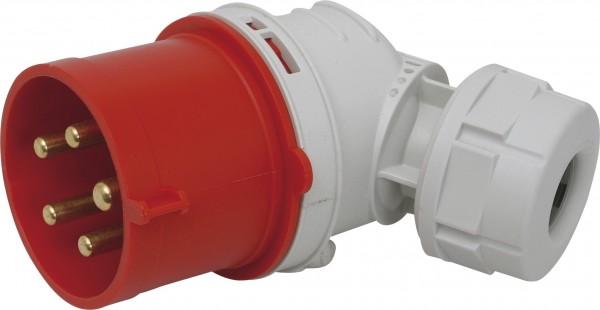 SIROX® CEE-Winkel-Stecker IP 44, 5-polig, 400 V, 6 h