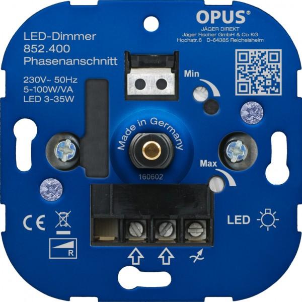 OPUS® Dreh-Phasenabschnitt-Dimmer