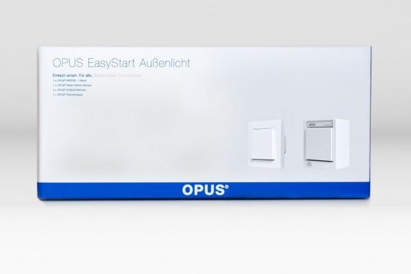 OPUS® EasyStart - Zusätzlicher Lichtschalter im Außenbereich polarweiß