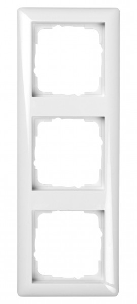 GIRA Rahmen 3-fach System 55 reinweiß glänzend