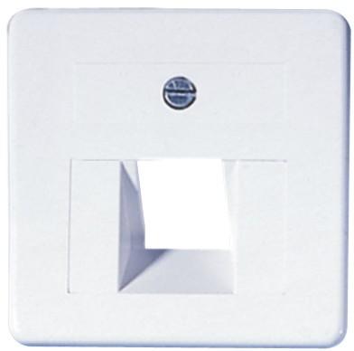 OPUS® 1 Abdeckung für ISDN/DATEN-Anschlussdosen 1-fach