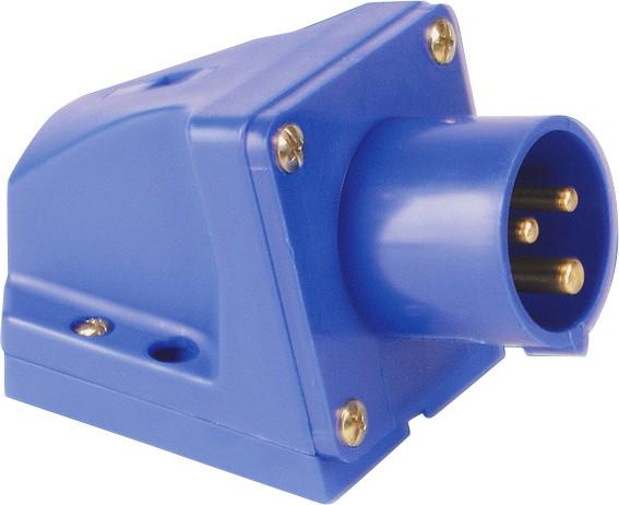 SIROX® CEE-Wandgerätestecker IP 44, 3-polig, 230 V, 6 h 16 A