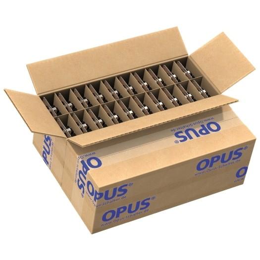 OPUS® 1 Schutzkontakt-Steckdose ohne Berührungsschutz Projektverpackung