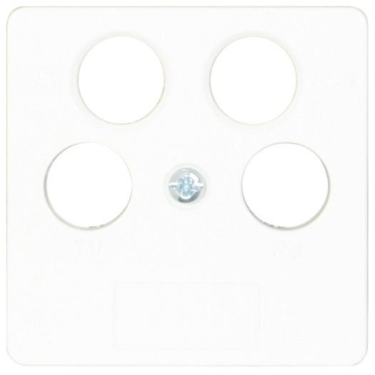 OPUS® 55 Abdeckung für Antennen-Steckdosen, 4-Loch