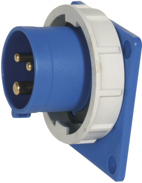 SIROX® CEE-Anbaugerätestecker IP 67, 3-polig, 230 V, 6 h 16 A 75 x 75 mm