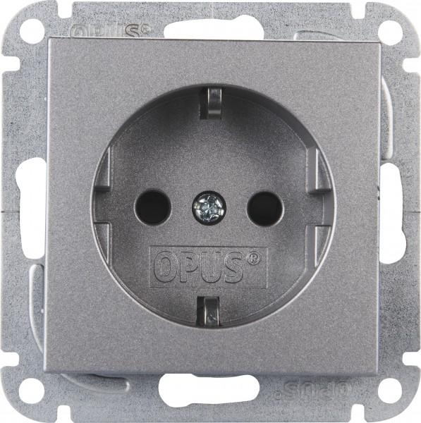 OPUS® 55 Schutzkontakt-Steckdose mit Steckklemmen