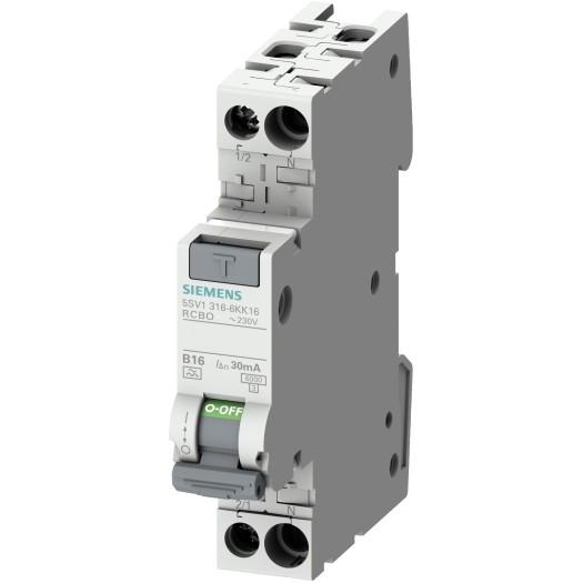 "Siemens FI/LS-Kombination Typ A , ""RCBO"""