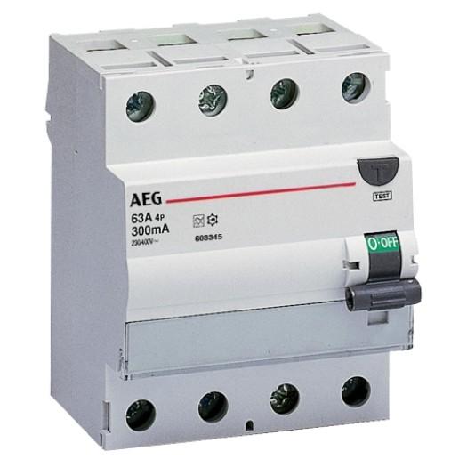 """AEG FI-Schutzschalter 4-polig Typ G, """"FP-4"""""""