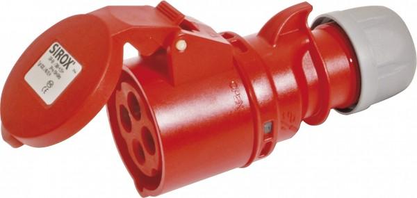 SIROX® CEE-Kupplung IP 44, 4-polig, 400 V, 6 h