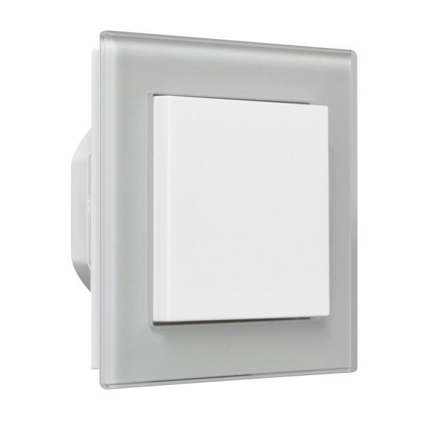 OPUS 55 BRiDGE 1 Kanal für die Lichtsteuerung Komplettgerät Fusion Glas Abdeckrahmen
