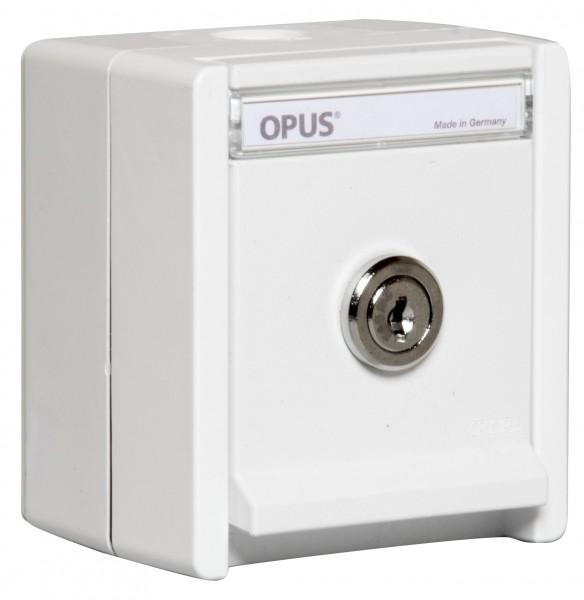 OPUS® RESIST Schutzkontakt-Steckdose 1-fach mit Schloss