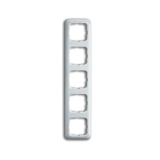 BUSCH-JAEGER Rahmen SI/Reflex 5-fach alpinweiß