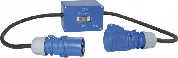 Zwischensteckerzähler für Wechsel- und Drehstrom mit SIROX® CEE-Steckvorrichtungen