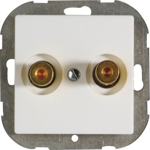 OPUS® 55 Lautsprecher-Anschlussdose