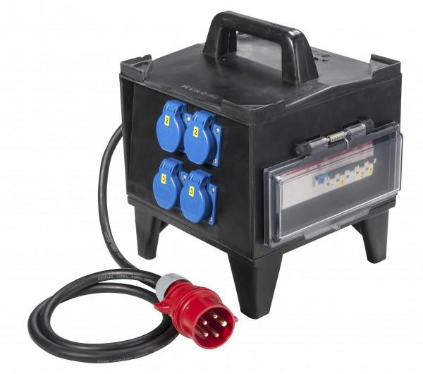"""SIROX® Vollgummi-Kleinverteiler """"GLATTBACH"""" ohne FI-Schalter"""