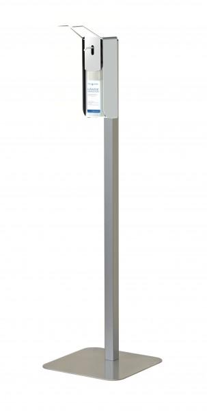 Clean-4-Health ECO Hygienestation (9590.ECO.1F), mit Armhebelspender, mit und ohne Rollen nutzbar, z