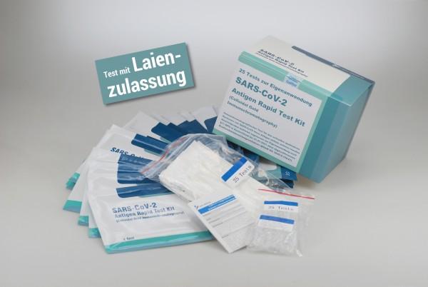 Antigen Rapid Test Kit, Lepu-Schnelltest - 25 Stück