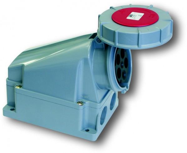 SIROX® CEE-Wanddose IP 67, 5-polig, 400 V, 6 h