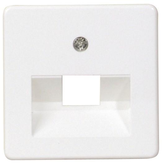 OPUS® 55 Abdeckung für ISDN/DATEN-Anschlussdosen 1-fach