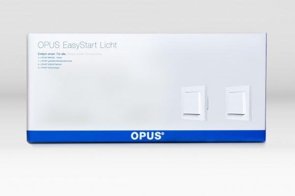 OPUS® EasyStart Licht - Zusätzlicher Lichtschalter polarweiß