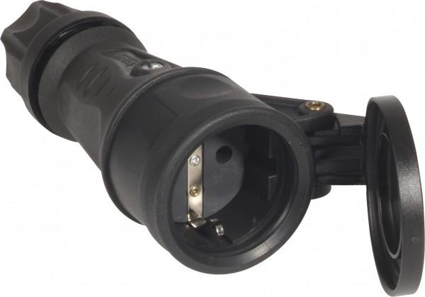 SIROX® XL Vollgummikupplung mit Feder-Klappdeckel