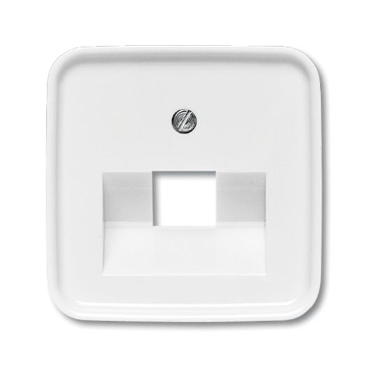 BUSCH-JAEGER Abdeckungen Kommunikationseinsätze SI/Reflex UAE 1-fach alpinweiß