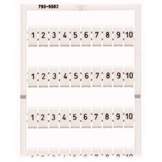 WAGO Beschriftungssystem für WAGO-Reihenklemmen 5 - 12 mm