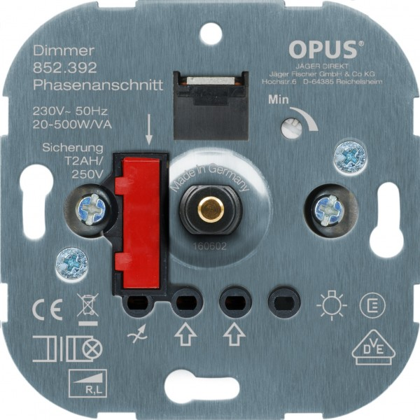 OPUS® Dreh-NV-Halogenlampen-Dimmer