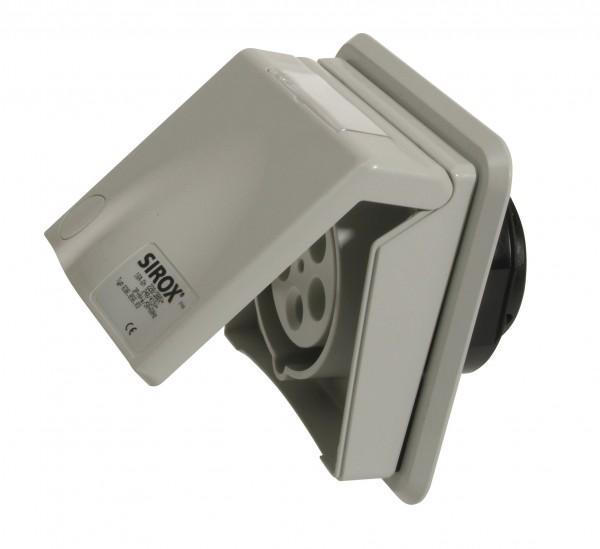 SIROX® CEE-Unterputzsteckdose, 5-polig, 400 V, 6 h