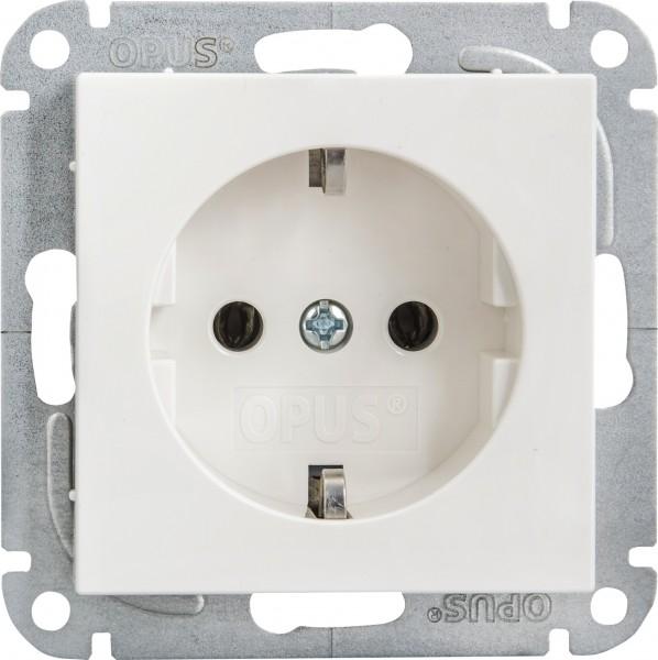 OPUS® 55 Schutzkontakt-Steckdose mit Schraubklemmen