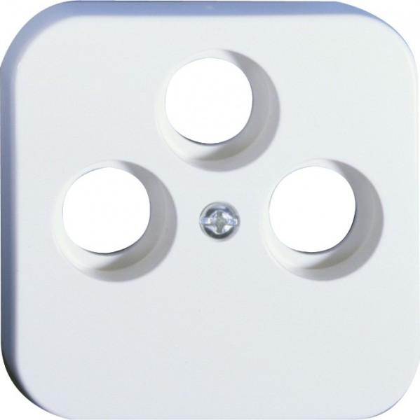 OPUS® 1 Abdeckung für Antennen-Steckdosen, 3-Loch