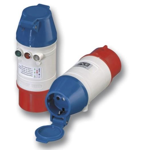 SIROX® Drehfeld-Prüfstecker IP 44, 5-polig, 6 h 400 V