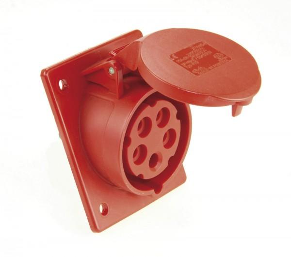 SIROX® CEE-Anbaudose IP 44, 5-polig, 400 V, 6 h, schräg